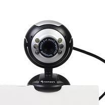 Fosmon USB 6 LED 12.0 Megapixel USB PC Webcam Web Camera +