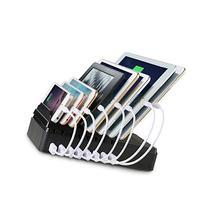 Upow 8-Port USB Charging Docks  Desktop Multi-Device