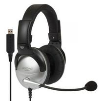 Koss SB45USB COMM HEADSET with MIC USB 8FT VOL NOISE