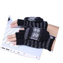 Eforstore Laptop Gloves USB Heated Half & Full Finger Winter