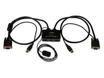 StarTech.com 2 Port USB VGA Cable KVM Switch