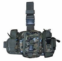USMC MARPAT Tactical Molle Drop Leg Mag Medic Utility Pouch