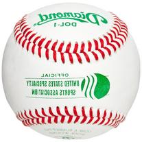 Diamond Usssa Dol-1 Leather Baseballs 1 Dozen