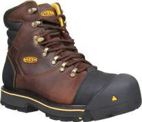 "Men's KEEN Utility Milwaukee 6"" Steel Toe Boots,"