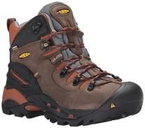 KEEN Utility Men's Pittsburgh Soft Toe,Cascade Brown/Bombay