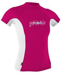 O'Neill UV Sun Protection Girls Skins Short Sleeve Crew