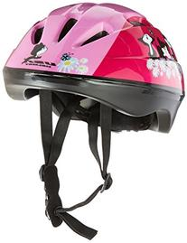 USA Helmet V-6 Toddler Bicycle Helmet, Pink with Kittens