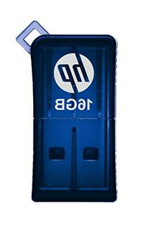 HP v165w 16GB USB 2.0 Flash Drive - Blue - P-FD16GHP165-GE