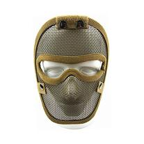 Canis Latran V4 Full Face Steel Wire Protective Mask Tan