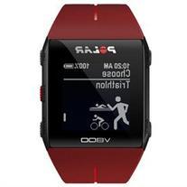 Polar V800 HR GPS Sports Watch Red