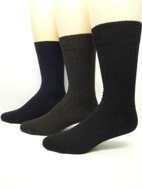 Vagden Diabetic Merino Wool Sensitive Foot Dress Sock  ,