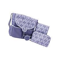 Boppy Vail Diaper Bag, Plaza Tiles, Grey
