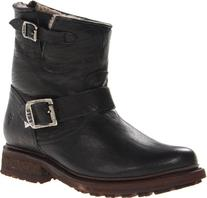 FRYE Women's Valerie Sherling 6 Boot, Black, 9.5 M US