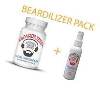 Beardilizer ® Value Pack: Dietary Supplement 90 Caps +