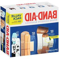 Band-Aid Brand Adhesive Bandage Variety Pack for First Aid