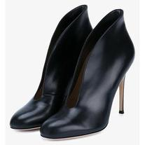 Gianvito Rossi Gianvito Rossi Vamp Leather Ankle Boots