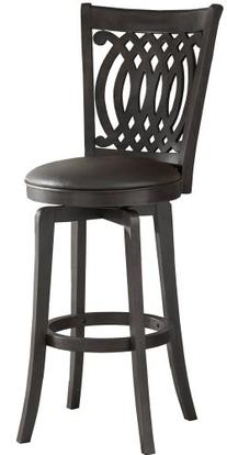 Hillsdale Van Draus 24-Inch Swivel Counter Stool and Flare