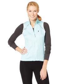 2XU Women's Vapor Mesh Cycling Vest, Glass Blue, Small