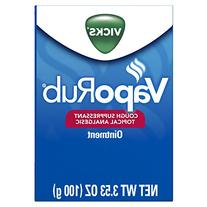 Vicks VapoRub Cough Suppressant Chest and Throat Topical