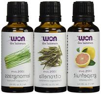 3-Pack Variety of NOW Essential Oils: Mosquito Repellent