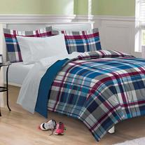 Varsity Plaid Bed Set