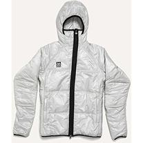 66 North Women's Vatnajokull PrimaLoft Jacket, Silver,