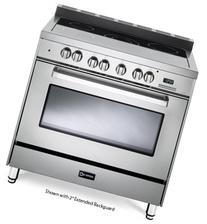"""Verona VEFSEE365SS 36"""" Electric Range with 4 cu. ft."""
