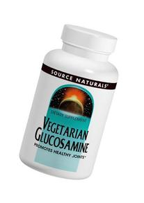Source Naturals Vegetarian Glucosamine 750mg Tablets - 240