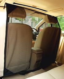 NAC&ZAC SUV Pet Barrier - High See Through Net Vehicle Pet