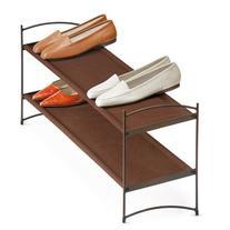 Lynk Vela 2-Tier Stacking Shoe Shelves, Bronze