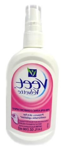 Veet Velvette Pre-Epilating Comfort 3.4 Oz Spray