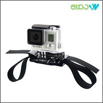 Vented Helmet Strap Mount for GoPro HERO3+ 3 2 1 Cameras