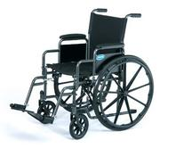 "Veranda 18"" Standard Wheelchair Arm Type: Permanent Full"