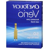 OneTouch Verio Test Strips - 50 ea