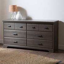 South Shore Versa 6-Drawer Double Dresser, Multiple Finishes