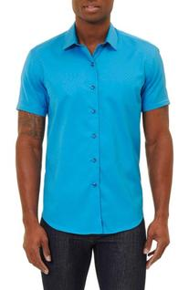 Men's Robert Graham Vertigo Classic Fit Sport Shirt, Size X-