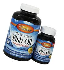 Carlson Labs - The Very Finest Norwegian Fish Oil Omega-3's