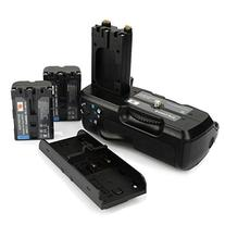 DSTE® Pro VG-B30AM Vertical Battery Grip + 2x NP-FM500H for