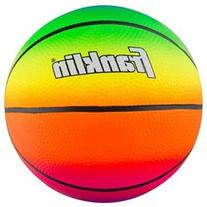 Franklin Sports Vibe 8.5-inch PVC Rainbow Basketball