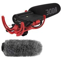 Rode VideoMic with Fuzzy Windjammer Kit
