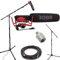 RODE VideoMic Studio Boom Kit - VM, Boom Stand, Adapter, 25