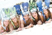U.S. Divers Junior Regal Mask and Laguna Snorkel, Fun Purple