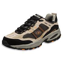 Skechers Men's Vigor 2.0 Trait Taupe/Black 14 M