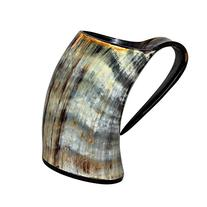 Viking Cup Drinking Horn Tankard - Authentic Medieval