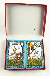 Vintage 1970's Trump Woodland and Forest Animals Two Deck