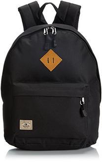 Everest Vintage Backpack Color: Black