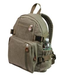 Rothco Olive Drab Vintage Compact Backpack