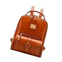 Tinksky® Vintage Shoulders Bag Fashion Student Backpack