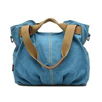 Good Bag Women's Vintage Style Tote Bag Zipper Daily Hobo