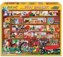 White Mountain Puzzles Vintage Toys - 1000 Piece Jigsaw